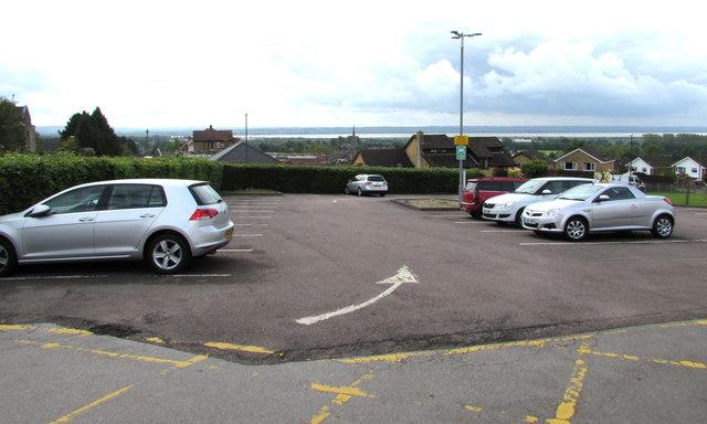 Lydney Hospital car park