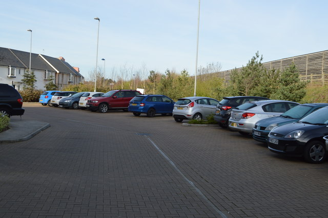 Car park, Orchard Park Travelodge