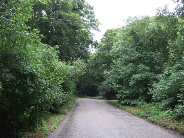 Minor road towards Godolphin Cross