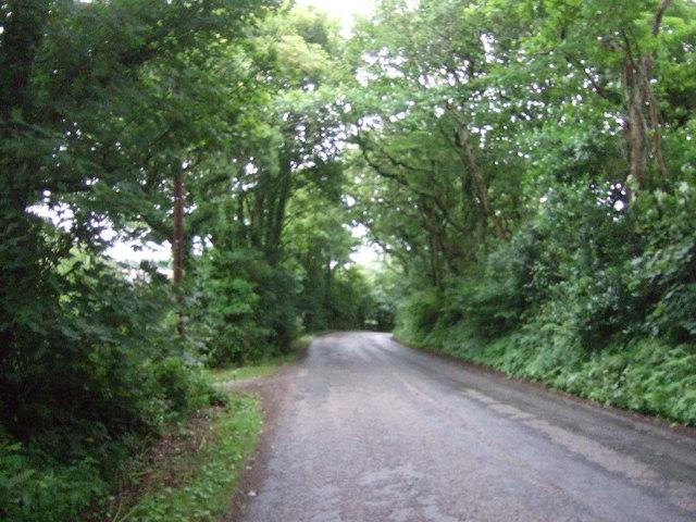 Heading south east towards Godolphin Cross