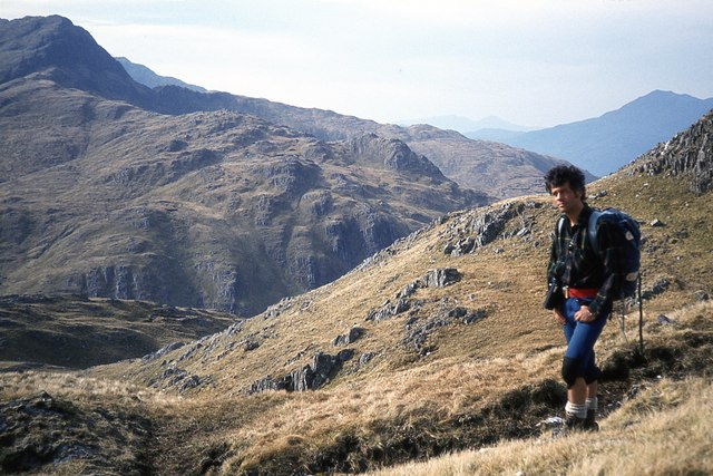 Ascent of the north ridge of Luinne Bheinn