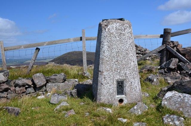 Summit trig point, West Cairn Hill