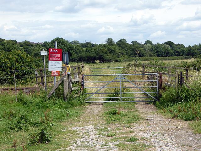 Farm occupation crossing