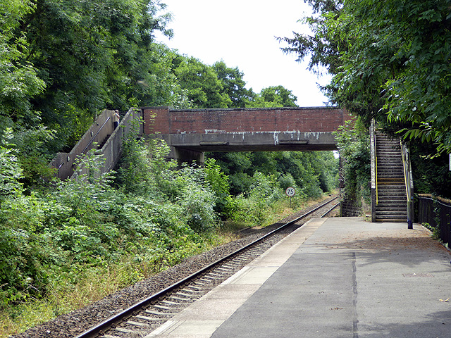 Road bridge over the railway at Yetminster