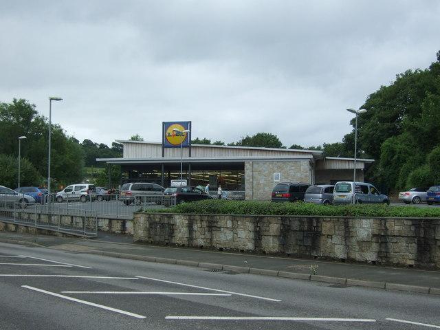Lidl Supermarket, Helston