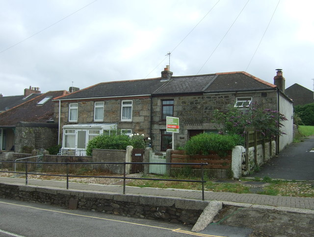 Houses on Meneage Street, Helston