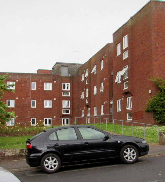 West side of Dray Court, Exmouth