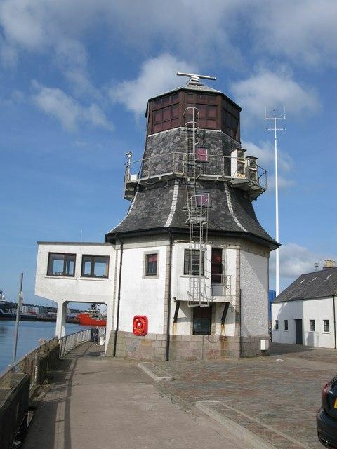 The Roundhouse (Navigation Control Centre), Pocra Quay, Aberdeen