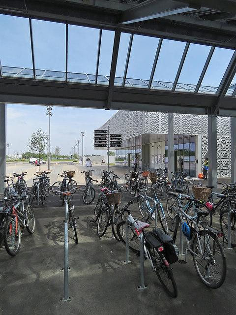 Cycles at Cambridge North