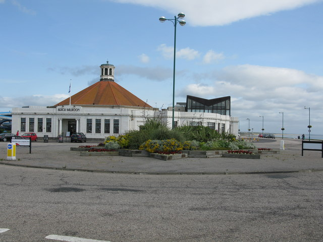Ornamental Roundabout at Aberdeen's Seafront