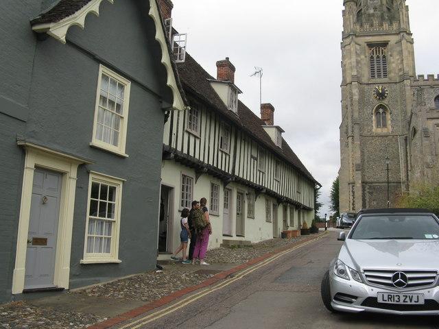 Church Path Cottages, Saffron Walden