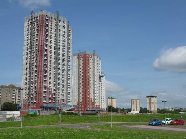 Seaton Tower Blocks, Aberdeen