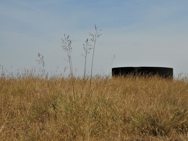 A view of the airshaft on Totley Moss