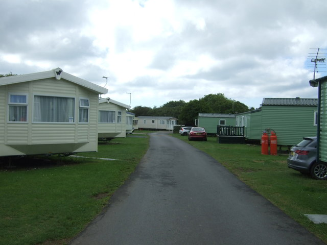 Access road, Mullion Holiday Park