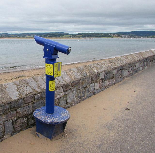 Talking Telescope, The Esplanade, Exmouth
