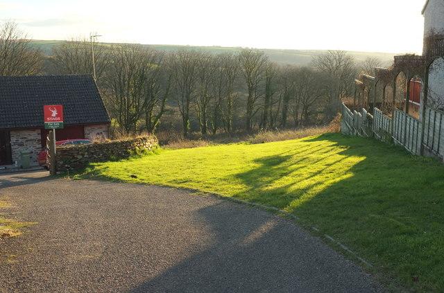 Gap between houses, Blisland