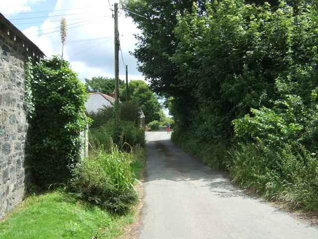 Minor road, Tresaddern