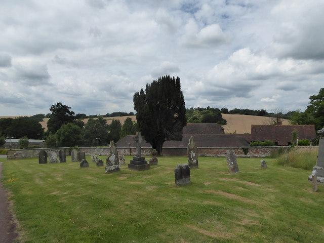 St Peter, Ashburnham: churchyard (d)