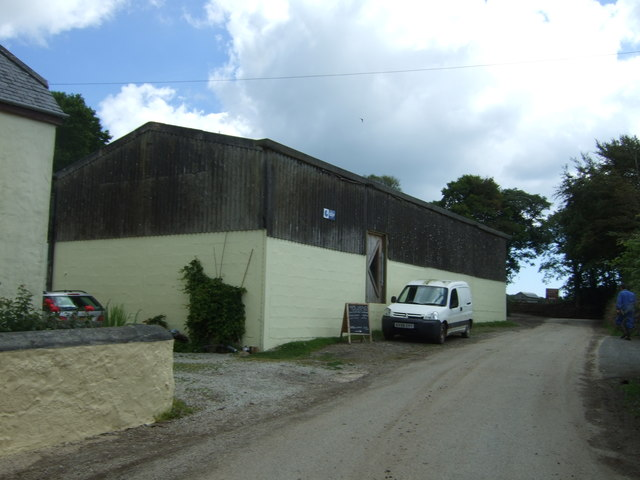 Farm building, Trerise Farm
