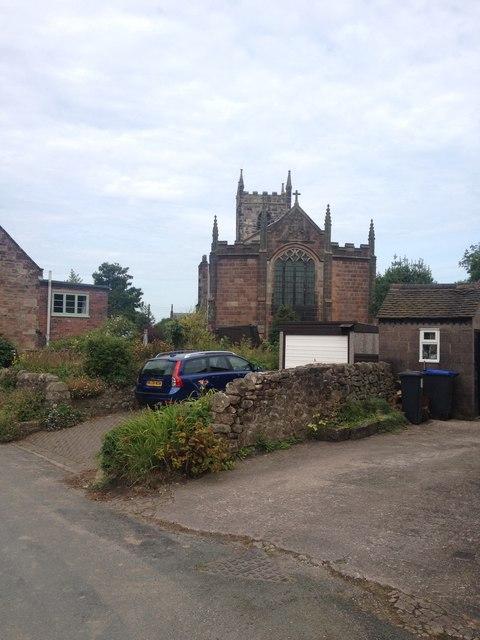 Ipstones church