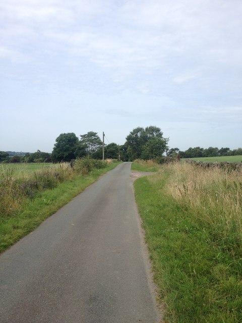 Church Lane near Ipstones