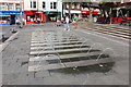 SH4762 : The Dancing Fountain in Castle Square, Caernarfon by Jeff Buck