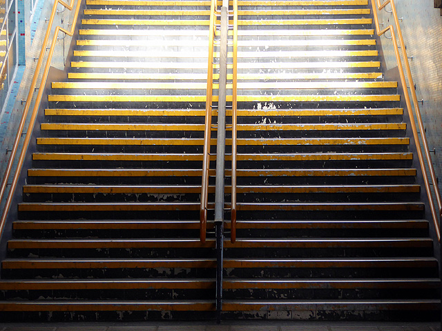 Stairway at Southampton Central station
