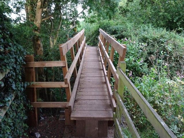 Replacement footbridge