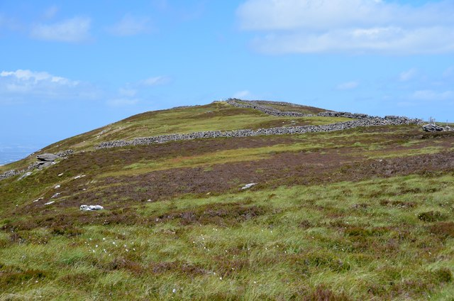 West Cairn Hill from the south