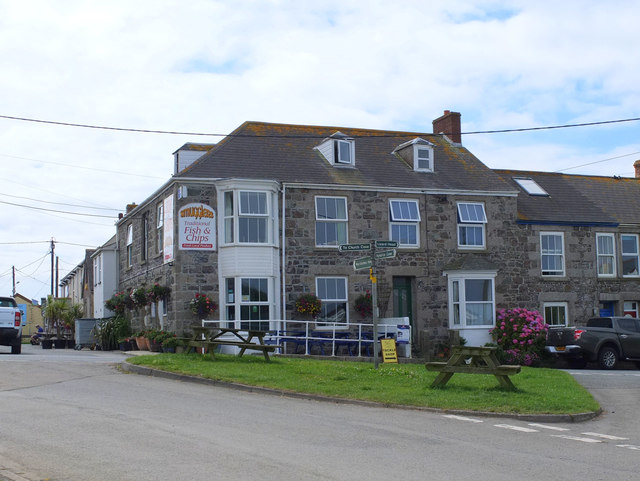 Smugglers Fish and Chips, The Lizard, Cornwall