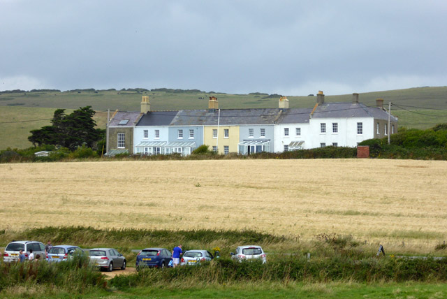 Coastguard cottages, Brook
