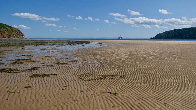 Beach by Nigg Links