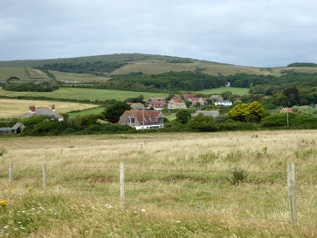 View over Brook from coastal path