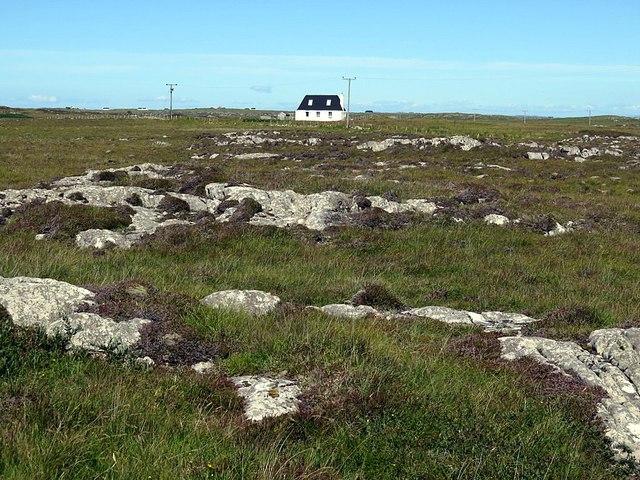 Cnoc Ruaidh in empty landscape