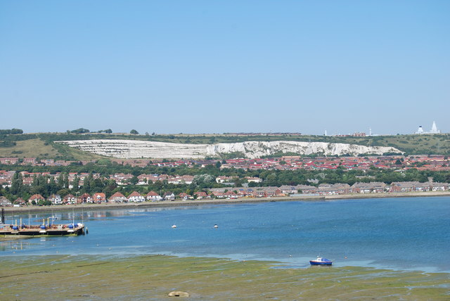 The view north-northeast from Portchester Castle (2)