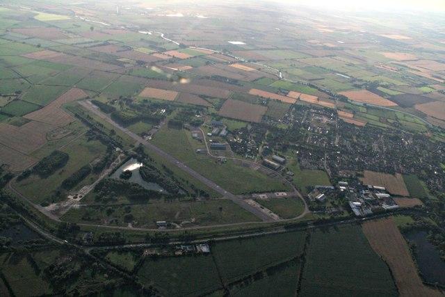 Former RAF Waterbeach: aerial 2017