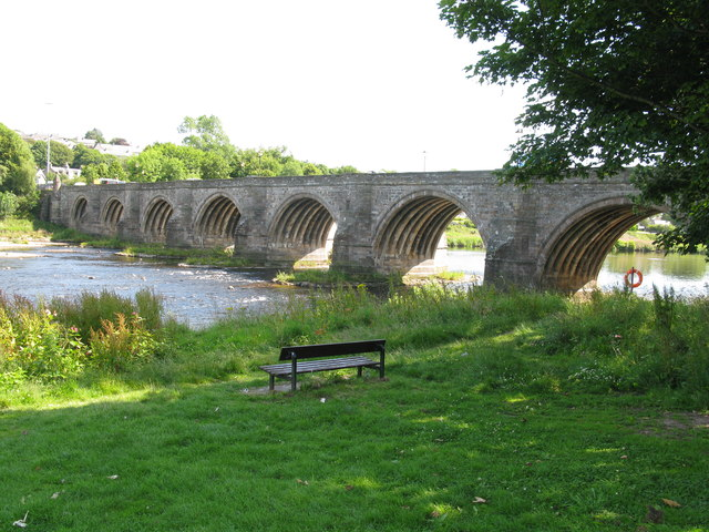 Bridge of Dee (Brig o' Dee), Aberdeen