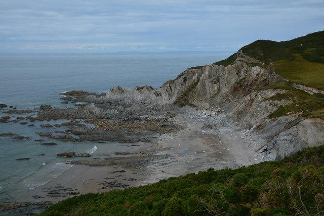 North Devon : Rockham Beach