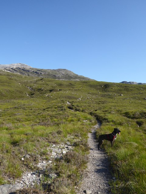 Path above the Ling Hut, Glen Torridon