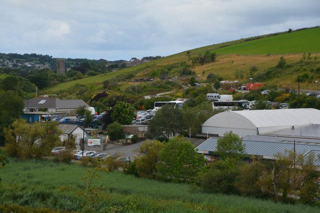 Sladesbridge : Countryside Scenery