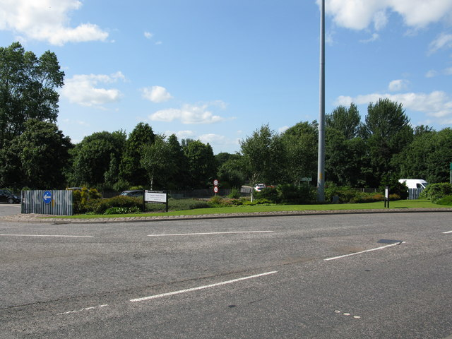 Large Roundabout on the A90 at the Bridge of Dee, Aberdeen