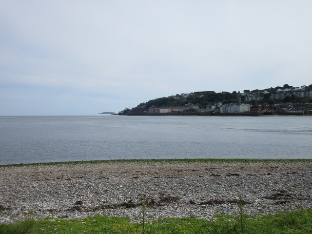 The southern part of Youghal seen from Ferrypoint
