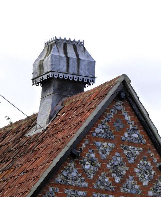 Chimney at Bradfield College