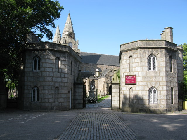 Gatehouses at St Machar's Cathedral, Aberdeen