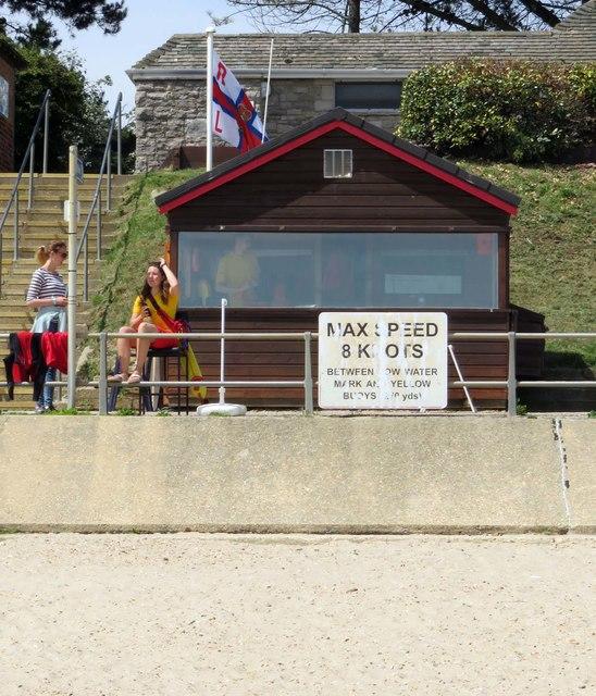 Lifeguard Station on Avon Beach