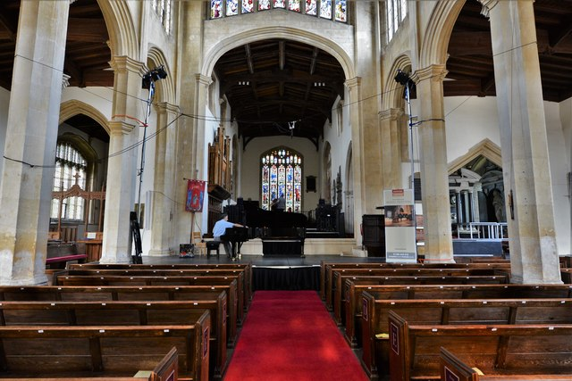 Chipping Campden, St. James Church: The nave, built from 1488