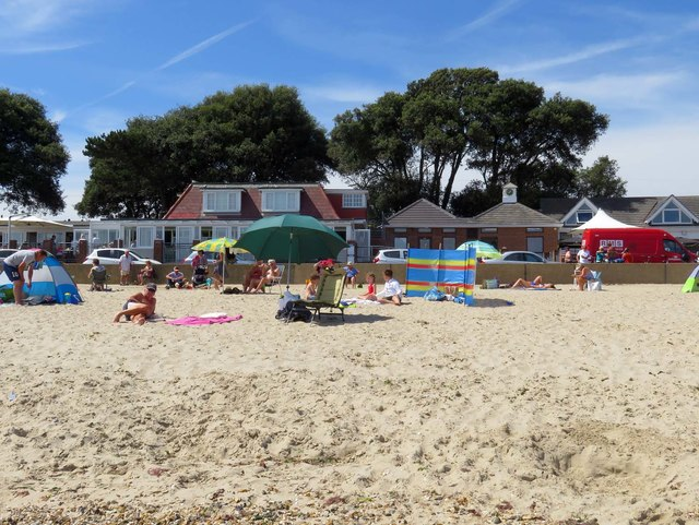 Avon Beach in Mudeford