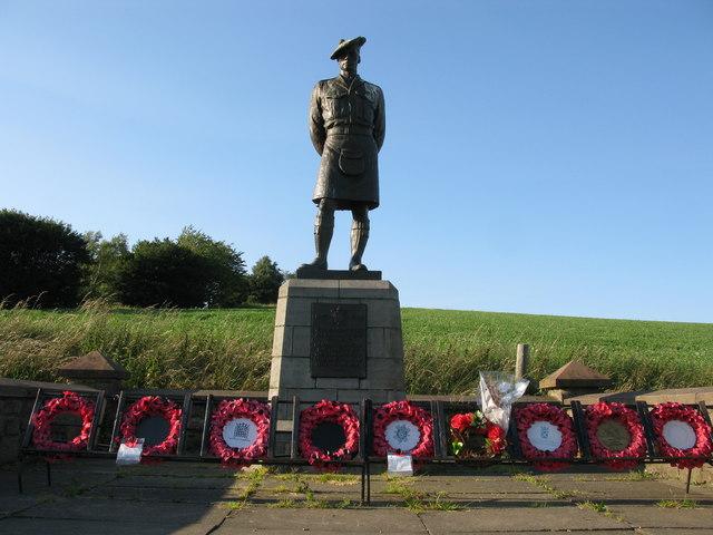 Black Watch War Memorial, Powrie, Dundee