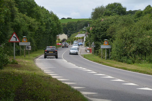 Cornwall : The A389