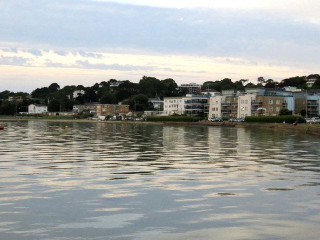 The shoreline by Sandbanks
